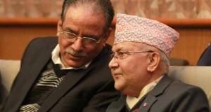 Prachanda-KP-Oli-talking