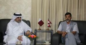 Qatar ambassador to Nepal