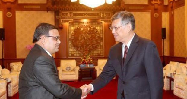 Speaker meet with Liu in Bejing